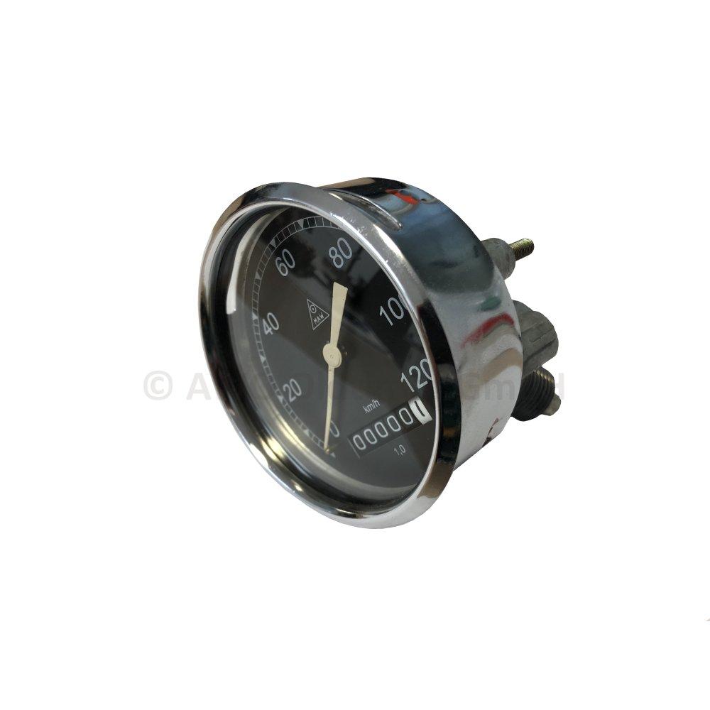 Simson AWO 425 Tachometer 80mm 120 km//h Tachoglas gewölbt Sport Touren